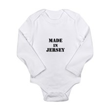 Made in Jersey Long Sleeve Infant Bodysuit