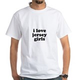 I Love Jersey Girls Shirt