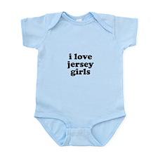 I Love Jersey Girls Infant Bodysuit