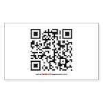 QR Sticker (Rectangle 50 pk)