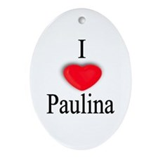 Paulina Oval Ornament