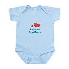 I Love My Brothers Infant Bodysuit
