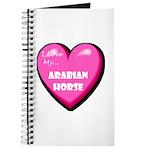 I Love My Arabian Horse Journal