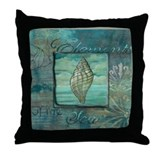 Cute Starfish Throw Pillow