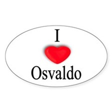 Osvaldo Oval Decal