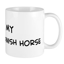 I Love Colonial Spanish Horse Mug