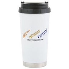 WOM, W3E, List Logos Ceramic Travel Mug