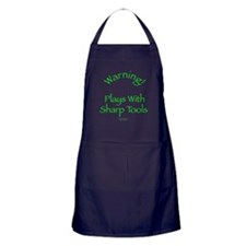 Warning - Sharp Tools Apron (dark)