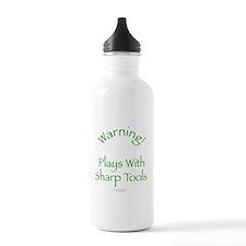 Warning - Sharp Tools Water Bottle