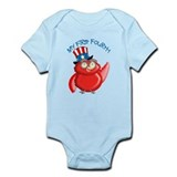 Baby's first Fourth of July Infant Bodysuit