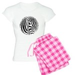 Zebra Art Women's Light Pajamas