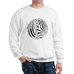 Zebra Art Sweatshirt