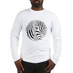 Zebra Art Long Sleeve T-Shirt