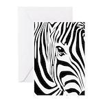 Zebra Art Greeting Cards (Pk of 10)