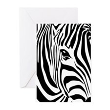 Zebra Art Greeting Cards (Pk of 10)