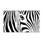 Zebra Art 22x14 Wall Peel