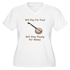 Banjo Stop Playing For Money T-Shirt