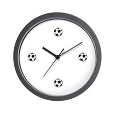 Soccer Themed Wall Clock