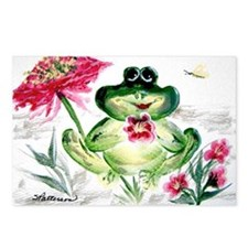 """Sunny Day Frog"" Postcards (Package of 8)"