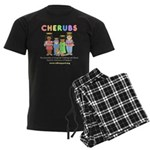 CHERUBS Logo - Pastel Men's Dark Pajamas