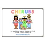 CHERUBS Logo - Pastel Banner