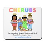 CHERUBS Logo - Pastel Mousepad