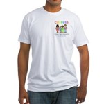 CHERUBS Logo - Pastel Fitted T-Shirt