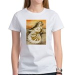 Yellow Splash English Trumpet Women's T-Shirt