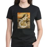 Yellow Splash English Trumpet Women's Dark T-Shirt