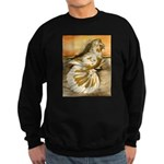 Yellow Splash English Trumpet Sweatshirt (dark)