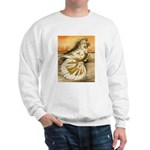 Yellow Splash English Trumpet Sweatshirt