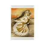 Yellow Splash English Trumpet Rectangle Magnet (10