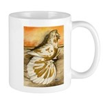 Yellow Splash English Trumpet Mug