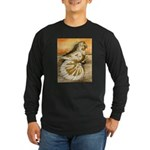 Yellow Splash English Trumpet Long Sleeve Dark T-S