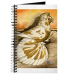 Yellow Splash English Trumpet Journal