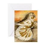 Yellow Splash English Trumpet Greeting Card