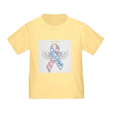 Winged CDH Awareness Ribbon T
