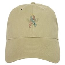 Winged CDH Awareness Ribbon Baseball Cap