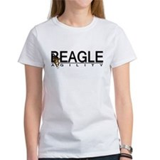 Beagle Agility T Shirt (Women's)