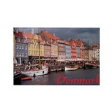 Cute Denmark Rectangle Magnet