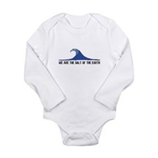 Salt of the Earth - Long Sleeve Infant Bodysuit