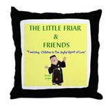 Unique Comics animation Throw Pillow