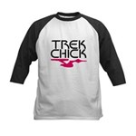 Trek Chick Kids Baseball Jersey