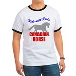 Ride With Pride Canadian Horse Ringer T