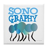 Sonographer Tile Coaster