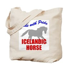 Ride With Pride Icelandic Horse Tote Bag