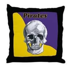 Pirates ECU Throw Pillow