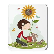 Gardening for bunnies Mousepad