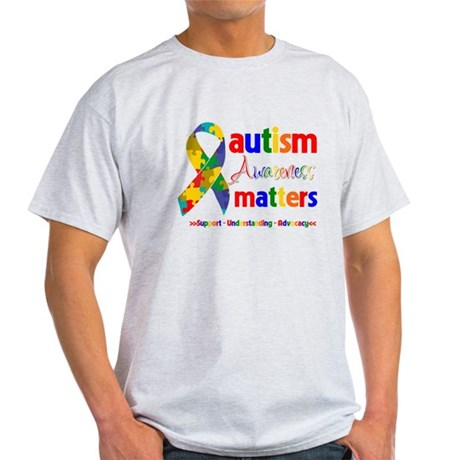 Autism Awareness Matters Light T-Shirt
