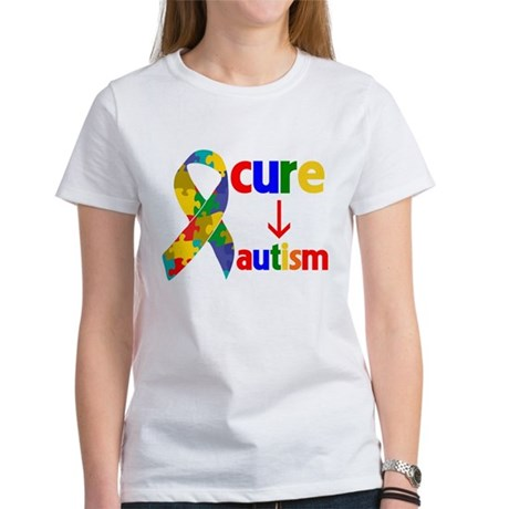 Cure Autism Women's T-Shirt